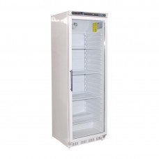Polar CD087-A Upright Display Fridge 400Ltr White