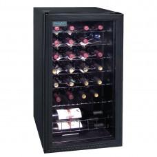 Polar CE203-A Wine Cooler - 28 bottles (Mechanical) Glass Door Metal Racks