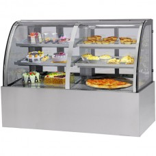 F.E.D. CG150FA/FE-2XB CG Dual Chilled and Heated Display Cabinet
