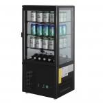 Chilled Display Cabinet Black - 68Ltr