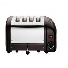 Dualit CK555-A Classic Vario Toaster 4 Slice Black Matt
