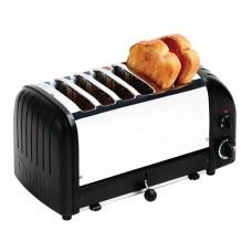 Dualit CK556-A Classic Vario Toaster 6 Slice Black Matt