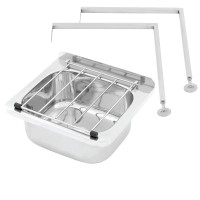 Stainless Steel Cleaners Sink With Legs