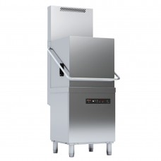 Evo-Concept Pass-Through Dishwasher With Drain Pump, Detergent Dispenser And Heat Recovery
