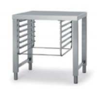 Stainless steel open stand with side runners (NPT071) for model BCK..10
