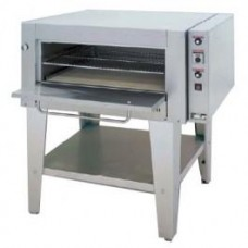 Goldstein E236-300GD 1375mm Single Deck Pizza and Bake Oven - Drop Down Glass Door