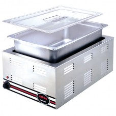 Kingo KGD7701 Counter Top Food Warmer/Bain Marie With 1/1 Pan