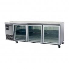 Skope CC500 Counterline Undercounter Slim Chiller St/St - 3 Glass Door (Direct)