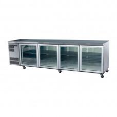 Skope CC700 Counterline Undercounter Slim Chiller St/St - 4 Glass Door