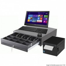 "DELL 19.5"" Touchscreen Standard Pos Turnkey Solutions"