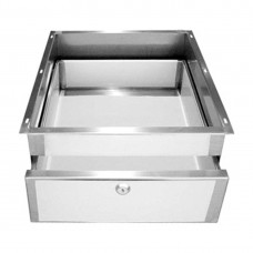 Modular Systems by FED DR-01/A Stainless Steel Drawer for Modular Systems Benches