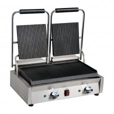 Bistro Double Ribbed Contact Grill