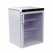 Thermaster by FED FED180G White Underbench Chiller Glass Door 600X600X850