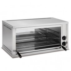 Fixed Height Electric Salamander Grill With 600x350mm Cooking Surface
