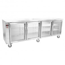 Thermaster by FED BB780R Four Door Bar Cooler - Remote Unit