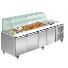 Thermaster by FED THP4100SALGC Four Door Deluxe Salad Bar