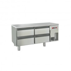 Baron BR12 SP03 Four Drawer Refrigerated Base