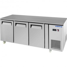 Grand by FED GTF3100B 3 Door Gastronorm Work Bench Freezer