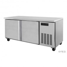 -5 to +5°C TROPICALISED Two Large Door Bench Fridge