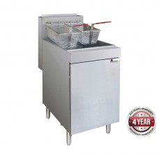 4 burner Gas fryer