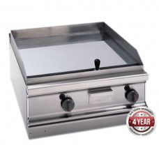 700 series natural gas chrome 2 zone fry top with thermostatic control 700 x 780 x 290mm