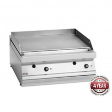 700 series natural gas mild steel 2 zone fry top with thermostatic control 700 x 780 x 290mm