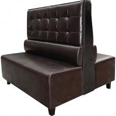 Lounge Double Dark Brown 1200X1100X1100