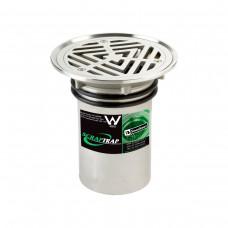3monkeez FW-100VRBT Vinyl Floor Waste with Bucket Trap (100mm)
