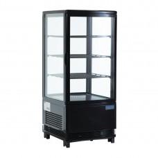 C-Series Display Fridge Black 68Ltr