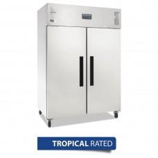 Gastro Refrigerator 2 Door Upright 1200Ltr 42.4cuft Ventilated - AUS PLUG