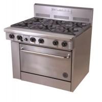Gas 6 Burner Range - 711mm Oven (28