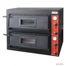 Black Panther by FED EP-1-SD Germanys Pizza Double Deck Oven - Wide Series