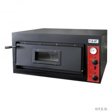 Black Panther by FED EP-1-1-SD Germanys Pizza Single Deck Oven - Wide Series