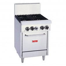 Thor GH100-P 4 Burner Oven with Flame Failure - LPG