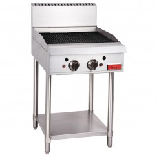 Thor GH103-P Gas Char Broiler 24 - Radiant manual controls with flame failure LPG