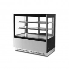2 Shelf Stainless Steel Cake Display 1200mm
