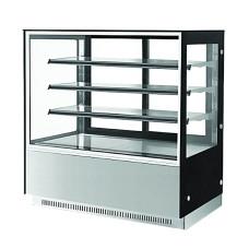 F.E.D. GN-1200RF3 3 Shelf Stainless Steel Cake Display 1200mm