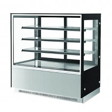 F.E.D. GN-1800RF3 3 Shelf Stainless Steel Cake Display 1800mm