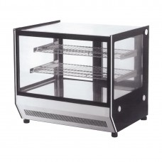 F.E.D. GN-1200RT Counter Top Square 2 Shelves Glass Cold Food Display