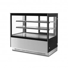 F.E.D. GN-1500RF2 2 Shelf Stainless Steel Cake Display 1500mm