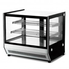 Bonvue by FED GN-900HRT Counter Top Square Glass Hot Food Display - 900Mm
