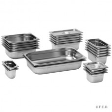 F.E.D. GN16100 1/6 X 100mm Gastronorm Pan Australian Style