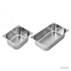 1/1 X 100mm Perforated Gastronorm Pan Australian Style