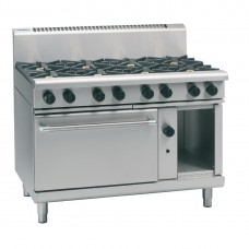 Waldorf RN8816G 1200mm Gas Static Oven Range 4X Burners & 600mm Griddle