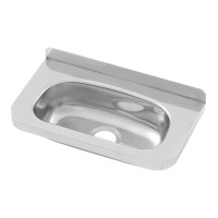 Compact Stainless Steel Hand Basin