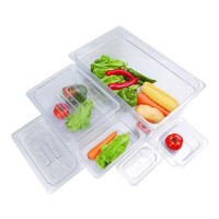 Clear Poly 1/3 X 100mm Gastronorm Pan