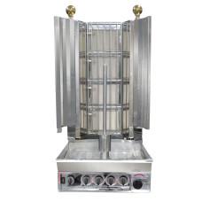 Semi-Automatic Kebab With Natural Gas 4 Burner