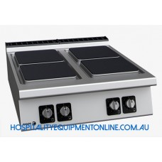 900 Kore, 4 Hotplate Electric Boiling Top