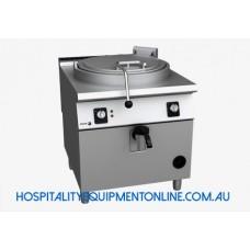 900 Kore, Gas Boiling Pan Direct Heat, 100L