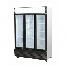 3 Door Upright Combination Fridge / Freezer, 1330mm Wide